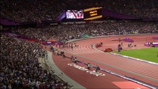 Усайн Болт Wins Olympic 100m Gold - London 2012 Olympics