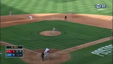Adam Wainwright Hits Yasiel Puig, Benches Empty - Game 1