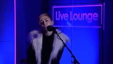 Miley Cyrus covers Summertime Sadness in the Live Lounge
