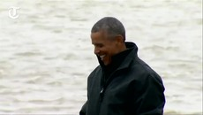 Barack Obama becomes first US president to cross Arctic Circle (1).mp4