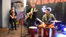 Adele - Rolling in the Deep cover by Gantulga & Otgoo & Zoloo at Cover Night.mp4