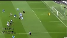 Kun Aguero scores five goals in 20 minutes - Man City vs Newcastle.mp4