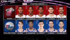 NBA playoffs Game 2-Miami Heat vs Philadelphia Sixers Full Game Highlights